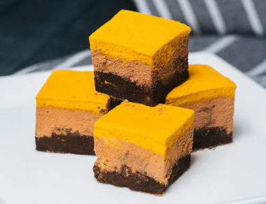 Turmeric Ombre Marshmallows
